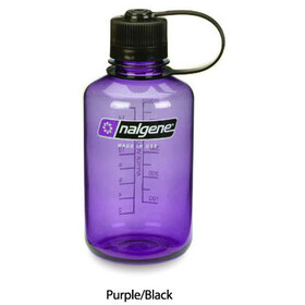 Nalgene Narrow Mouth Bottles 0,5l purple/black